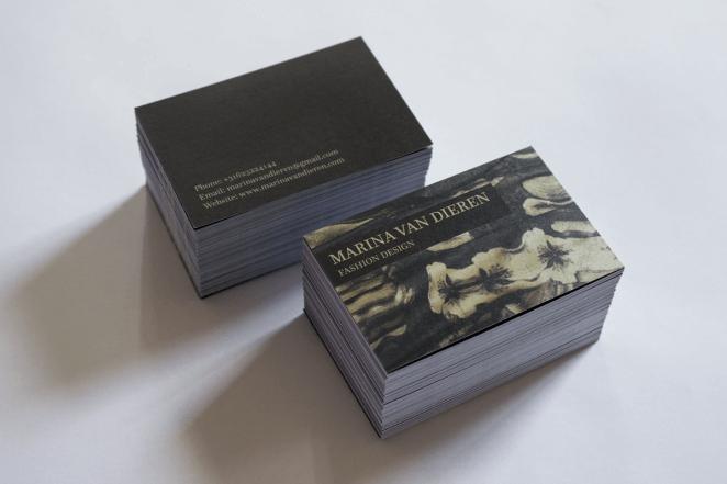 Business Cards Marina van Dieren